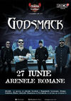 Concert Godsmack la Arenele Romane - 27 iunie 2015