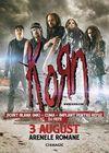 Concert Korn la Arenele Romane pe 3 august