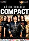 Concert Compact la Hard Rock Cafe pe 7 mai