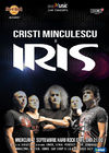 IRIS si Cristi Minculescu in concert la Hard Rock Cafe pe 2 septembrie