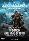 AMON AMARTH The Return Of The Vikings pe 4 decembrie la Arenele Romane