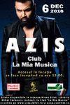 Concert AZIS pe 6 decembrie la Clubul Mia Musica