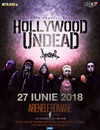 HOLLYWOOD UNDEAD in premiera in Romania