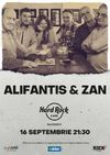 Concert Alifantis & ZAN pe 16 septembrie