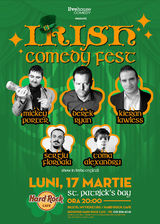The Irish Comedy Festival la Hard Rock Cafe