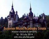 Summer Music Academy 2014 in Sinaia