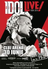 Concert Billy Idol la Cluj Arena