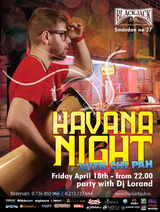 Havana Night with CHI PAH in Black Jack Pub