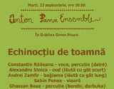 Concert Anton Pann Ensemble in Green Hours