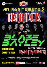 An Iron Tribute cu Trooper si Blaze Bayley in Club Colectiv
