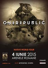 Concert One Republic la Arenele Romane