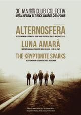 Concert Alternosfera, Luna Amara, The Kryptonite Sparks la Metalhead Alt Rock Awards