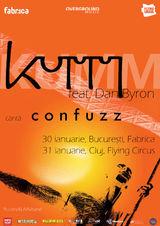 Concert Kumm feat. Dan Byron in Club Fabrica