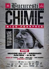 Concert Chimie aka Misu Foarfeca in The Silver Church Club pe 1 februarie