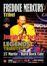 Concert Freddie Mercury Tribut cu Joseph Lee Jackson la Hard Rock Cafe pe 27 martie