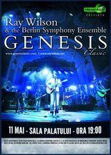 Ray Wilson, solistul si compozitorul legendarei trupe GENESIS, vine pentru prima data in Romania