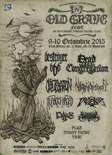 Old Grave Fest 2015 cu Destroyer, 666, Violentor, Turbocharged si Slaughbbath in Club Fabrica