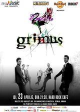 Concert Grimus in Hard Rock Cafe pe 23 aprilie