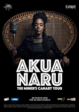 Concert Akua Naru in Silver Church pe 29 martie