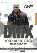Concert DMX in Club ONE pe 27 martie
