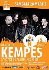 Concert Kempes - Lansare de album