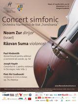 Concert Noam Zur si Razvan Suma la Colegiul Academic pe 27 martie