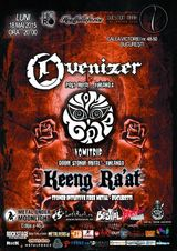 Concert Ovenizer, Vomitrip, Keeng Ra'at in Question Mark pe 18 mai