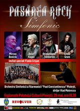Concert Pasarea Rock Simfonic - o noua provocare Baniciu, Kappl & Lipan