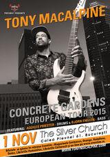 Concert Tony Macalpine in Silver Church pe 1 noiembrie