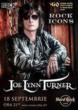 JOE LYNN TURNER, vocea Rainbow, Deep Purple, Yngwie Malmsteen, in exclusivitate la Bucuresti