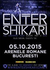 Concert Enter Shikari la Bucuresti in data de 5 octombrie 2015