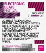 Festivalului Electronic Beats pe 2 si 3 octombrie la Bucuresti
