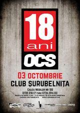 Concert OCS la Urania Palace, Cluj, 31 octombrie
