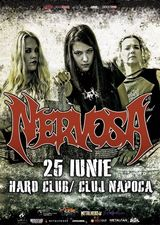 Formatia Nervosa concerteaza la Cluj Napoca in Hard Club