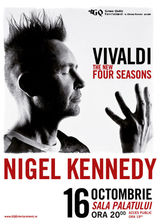 NIGEL KENNEDY 'Vivaldi The new Four Seasons' la Sala Palatului