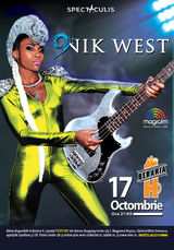 Nik West concerteaza la Bucuresti pe 17 octombrie