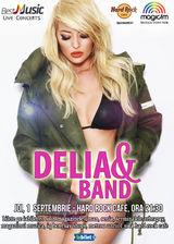 Delia concerteaza pe 1 Septembrie la Hard Rock Cafe