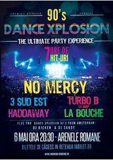 90'S DANCE XPLOSION LIVE, la Bucuresti!