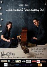 Linda Kovacs si Adam Bogothy (Ungaria) in recital la Timisoara