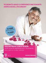 Andrea Bocelli concerteaza la Cluj pe 25 iunie