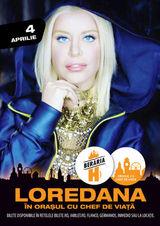 Concert Loredana pe 4 aprilie la Beraria H