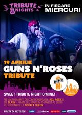 Concert Tribut Guns N` Roses pe 19 aprilie la Beraria H