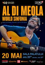 Concert Al Di Meola la Sala Palatului pe 20 mai la Sala Palatului