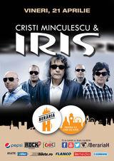 Concert Cristi Minculescu & Iris pe 21 aprilie la Beraria H