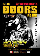 Concert The Doors Alive pe 29 septembrie