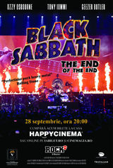 Black Sabbath - The End Of The End pe 28 septembrie la Happy Cinema