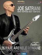 Concert Joe Satriani la Bucuresti