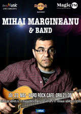 Concert Mihai Margineanu - 23 mai