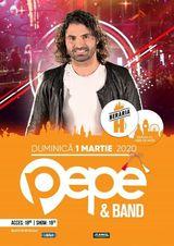 Pepe & Band // 1 martie // Beraria H