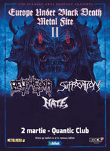 Concert Suffocation, Belphegor & HATE - part II